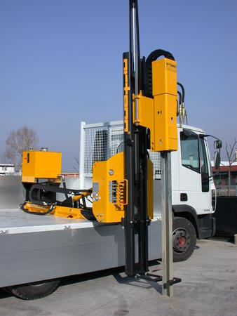 Piledriver truck mounted - Piledriver BASIC 600  truck-mounted