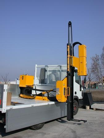 Piledriver truck mounted - Piledriver HD 1000 truck-mounted