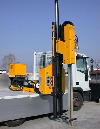 Piledriver truck mounted - Piledriver HD 800 truck-mounted