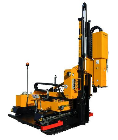Piledriver crawler mounted - Piledriver HD 800 crawler mounted