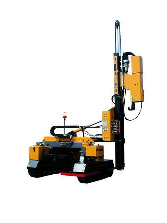 Piledriver crawler mounted - Piledriver SMART 800 crawler mounted