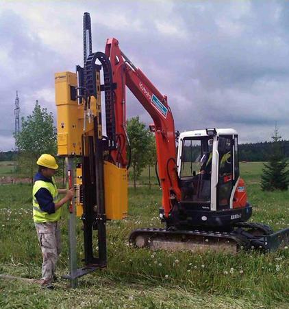 Battipalo da escavatore - 600J - 800J - 1000J - da escavatore